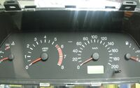 Комбинация приборов VDO на ВАЗ 2110-2112