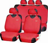 Майки на сиденья автомобиля красный