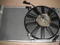 Радиатор охлаждения кондиционера на Лада Приора Panasonic в сборе с вентилятором