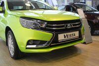 Передний бампер Lada Vesta люкс (В сборе)