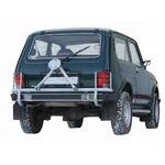 Кронштейн запасного колеса усиленный с защитой фонарей на ВАЗ 21214, 2131 Нива