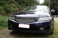 Решетка радиатора Honda Accord VII (2006-2008) MUGEN DM.