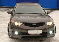"""Бампер передний """"MUGEN Style"""" Honda Accord VIII 2008"""