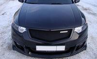 "Юбка переднего бампера ""MUGEN Style"" Honda Accord VIII 2008"