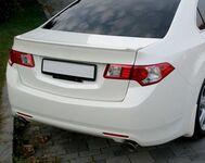 Спойлер лип на крышку багажника Honda Accord 8 (2008 год)