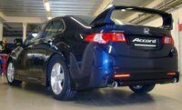 """Спойлер """"MUGEN Style"""" Honda Accord VIII 2008- var№2 высокий составной"""