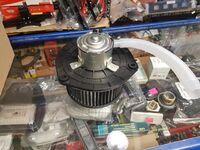 Вентилятор печки на Лада Приора с кондиционером Panasonic Валее-95