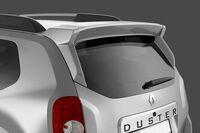 """Спойлер Renault Duster """"Чистое стекло"""" в цвет автомобиля"""
