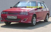 """Передний бампер """"LEX"""" на ВАЗ 2109, 21099, 2108"""