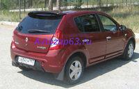 """Спойлер """"Карт-RS"""" на Renault Sandero (вариант №1)"""