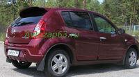 """Спойлер """"Карт-RS"""" на Renault Sandero (вариант №2)"""