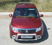 "Накладки на противотуманные фары ""KART RS"" на Renault Sandero"