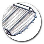 Багажник «Трофи» с сеткой удлиненный без поперечин на Лада 4х4 Нива 2131 (5 дверная)