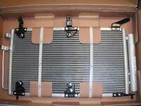 Радиатор охлаждения кондиционера Luzar на Лада Калина Рanasonic