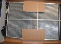 Радиатор охлаждения двигателя Luzar на Лада Ларгус 16 кл