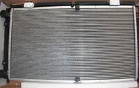 Радиатор охлаждения двигателя Luzar на Лада Приора Panasonic
