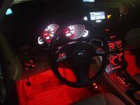 Красная светодиодная лента для подсветки салона