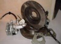 Задние дисковые тормоза 14 Дизайн-Сервис вентилируемые на ВАЗ 2108-2115, Лада Приора, Калина, Гранта