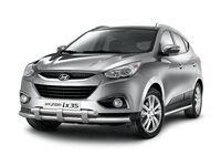 Защита порогов d63 на Hyundai ix35