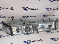Модифицированные фары хром на ВАЗ 2110, ВАЗ 2112