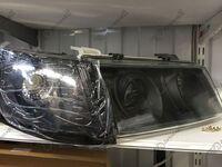 Модифицированные фары на ВАЗ 2110, ВАЗ 2112 черные