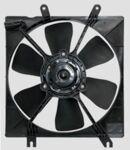 Вентилятор охлаждения радиатора двигателя на Kia SPECTRA (с кожухом)