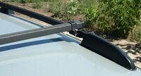 Рейлинги на автомобиль ЛАДА КАЛИНА 1119 с поперечинами Металл Дизайн