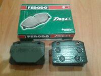 Передние тормозные колодки 2101 (зеленые) FERODO