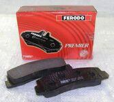 Передние тормозные колодки 2121 (красные) FERODO
