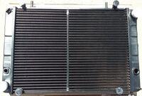 Радиатор охлаждения двигателя газель двухрядный медный