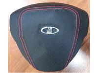 Муляж подушки безопасности водителя Приора, Калина 2 черная кожа