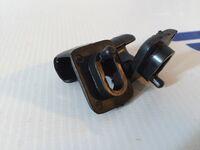 Черные кронштейны (крючки) солнцезащитного козырька для ВАЗ 2108-2115