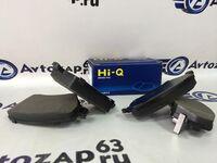 Колодки тормозные передние для Lada Vesta, Largus V16 Hi-Q (Корея)