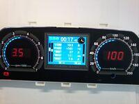 Электронная комбинация приборов FLASH X-101 для 2110-15 и Шевроле Нива