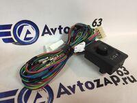 Комплект для подключения обогрева и электро-регулировки зеркал для Лада 4x4 Нива
