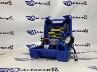 Компрессор автомобильный усиленный с набором инструментов