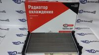 Радиатор охлаждения двигателя алюминиевый ОАТ на ВАЗ 2103-2106