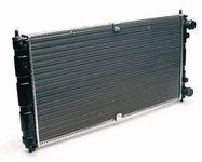 Радиатор охлаждения двигателя алюминиевый ОАТ на Шевроле Нива