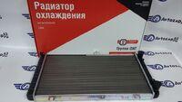 Радиатор охлаждения двигателя алюминиевый ОАТ на ВАЗ 2108-2115 инжектор