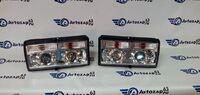 Фары для автомобилей ВАЗ 2105, ВАЗ 2107 (Классика) хромированные