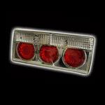 Задние диодные фонари для автомобилей ВАЗ 2105, ВАЗ 2107 (Классика). RS-03315