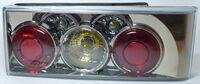 Задние фонари Torino хром для автомобилей ВАЗ 2113, ВАЗ 2114 (Lada Samara 2) DL5266NA