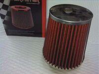 Фильтр нулевого сопротивления инжекторный на ВАЗ (красный, круглый)