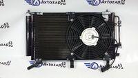 Радиатор кондиционера в сборе с вентилятором на Лада Калина Panasonic