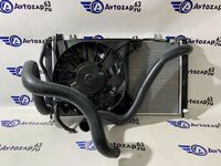 Радиатор охлаждения двигателя на Лада Гранта, Калина 2 в сборе