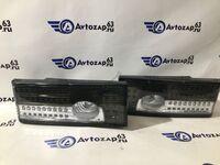 Светодиодные фонари с бегающими поворотниками серые с белой полосой на ВАЗ 2108-2109, 2113, 2114