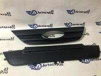 Комплект зимней защиты решеток радиатора на Лада Ларгус (заглушка на зиму) нового образца