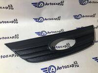 Зимняя защита решетки радиатора верхняя (заглушка) на Лада Ларгус нового образца