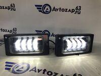 Светодиодные противотуманные фары Sal-Man LED 4 линзы на ВАЗ 2110-2112, 2113-2115, Шевроле Нива (до рестайлинга)