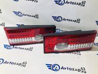 Светодиодные задние фонари красно-белые на ВАЗ 2108-2109, 2113, 2114